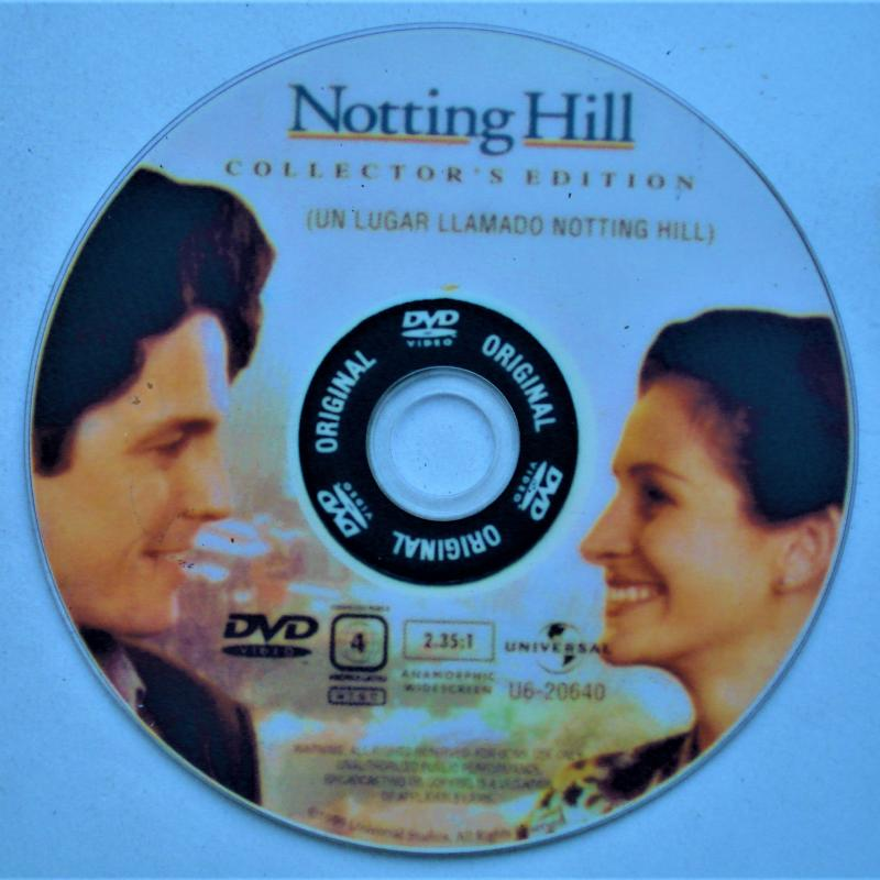 NOTTING HILL CD DVD USADO