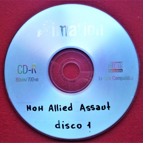 HOH ALLIED ASSAUT DISCO 1 CD MÚSICA COPIA USADO