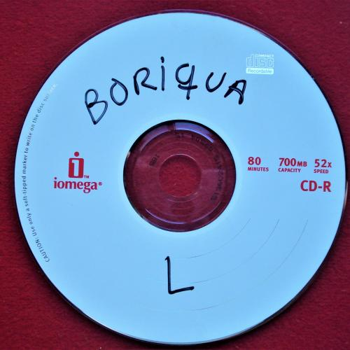 BORIQUA CD MÚSICA COPIA USADO