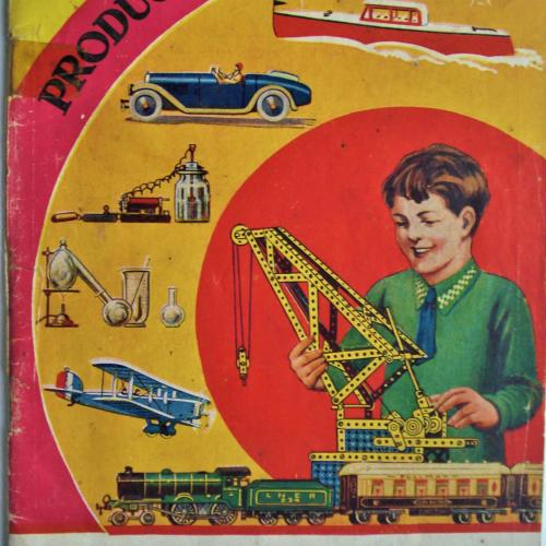 CATALOGO PRODUCTOR MECCANO 1937 DINKY HORNBY 48 PAG