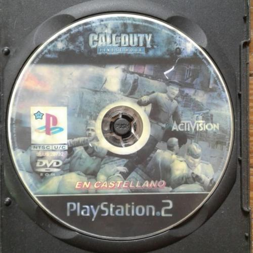 PLAYSTATION 2  CALL OF DUTY